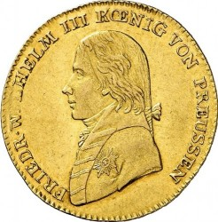 Moneta > 1d'Or, 1798-1816 - Prussia  - obverse