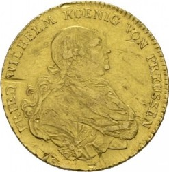 Moneta > 1d'Or, 1786-1797 - Prusy  - obverse
