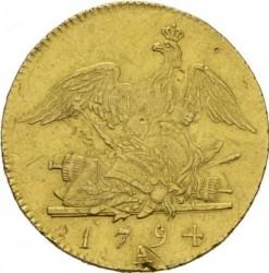 Moneta > 1d'Or, 1786-1797 - Prusy  - reverse