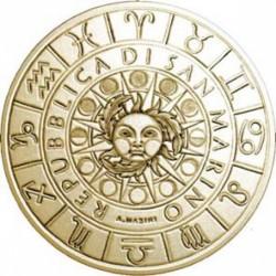 Moneda > 5euros, 2018 - San Marino  (Zodiac Signs - Aries) - obverse