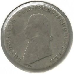 Pièce > 4grosze, 1797-1809 - Prusse  - obverse