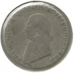 Pièce > 4grosze, 1797-1809 - Prusse  - reverse