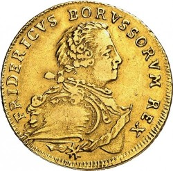 Moneta > 1 d'Or, 1750-1759 - Prussia  - obverse