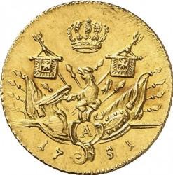 Moneta > 1d'Or, 1750-1759 - Prussia  - reverse