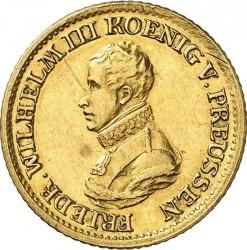 Moneta > ½d'Or, 1817 - Prussia  - obverse