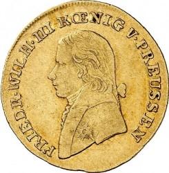 Moneda > ½d'Or, 1802-1816 - Prusia  - obverse