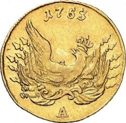 Монета > 1дьор, 1752-1753 - Прусия  - reverse