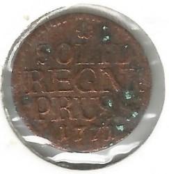 Moneta > 1szyling, 1771-1786 - Prusy  - reverse