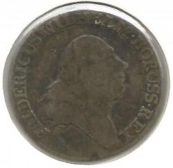 Moneta > 4grosze, 1796-1798 - Prusy  - obverse