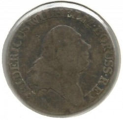 Pièce > 4grosze, 1796-1798 - Prusse  - reverse