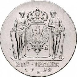 Pièce > 1thaler, 1797-1809 - Prusse  - reverse