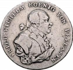 Moneta > 1thaler, 1790-1797 - Prusy  - obverse