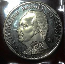 Moneta > 1dollaro, 2005 - Sierra Leone  (Morte del principe Ranieri III) - obverse