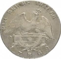 Монета > 1рейхсталер, 1786-1791 - Прусия  - reverse