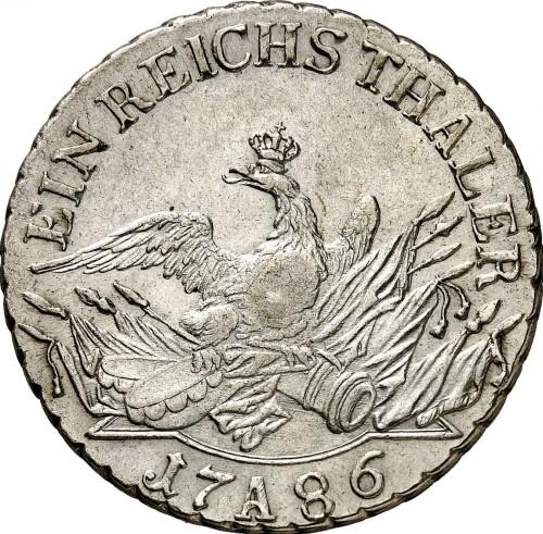1 Reichsthaler 1775 1786 Preussen Münzen Wert Ucoinnet