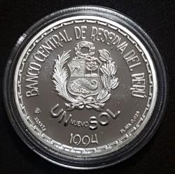 Moneda > 1nuevosol, 1994 - Perú  (Cultura Moche - Señor de Sipán) - reverse
