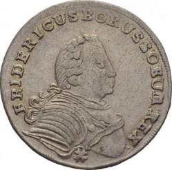 Moneta > 18groszy, 1751-1755 - Prusy  - obverse
