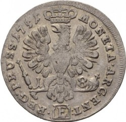 Moneta > 18groszy, 1751-1755 - Prusy  - reverse
