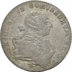 """Moneta > 18groszy, 1753 - Prusy  (Znak """"G"""" ) - obverse"""