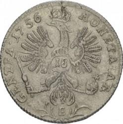 Moneta > 18groszy, 1755-1759 - Prusy  - reverse