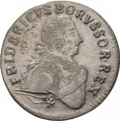 Moneta > 6groszy, 1753-1757 - Prusy  - obverse