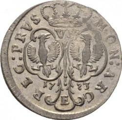 Moneta > 6groszy, 1753-1757 - Prusy  - reverse