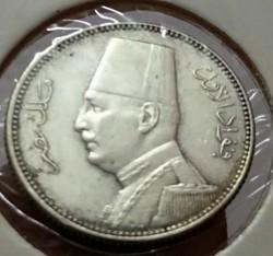 Монета > 2піастра, 1929 - Єгипет  - obverse