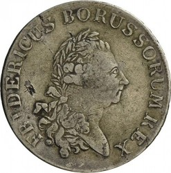 Moneta > 1Reichstaler, 1775-1786 - Prussia  - obverse