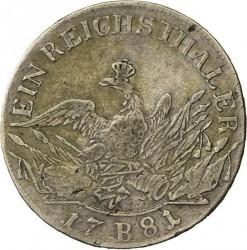 Moneta > 1Reichstaler, 1775-1786 - Prussia  - reverse