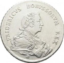 Moneta > 1reichsthaler, 1750-1752 - Prusy  - obverse