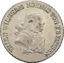 Pièce > ⅓reichsthaler, 1786-1798 - Prusse  - obverse