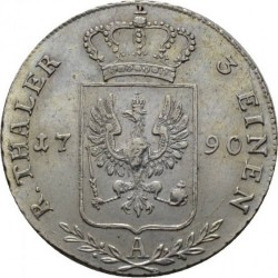 Pièce > ⅓reichsthaler, 1786-1798 - Prusse  - reverse