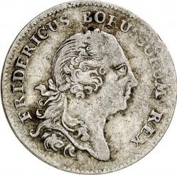 Moneta > ⅙reichstaler, 1752-1763 - Prussia  - obverse