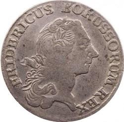 Moneta > ⅙reichstaler, 1764-1778 - Prussia  - obverse