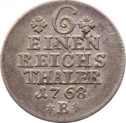 Moneta > ⅙reichstaler, 1764-1778 - Prussia  - reverse