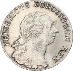 Moneta > ⅙reichsthaler, 1764-1778 - Prusy  - obverse