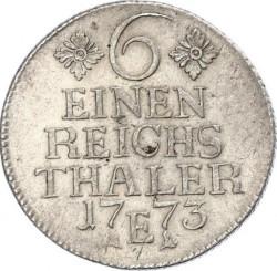 Moneta > ⅙reichsthaler, 1764-1778 - Prusy  - reverse