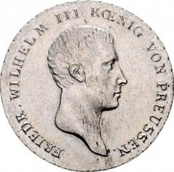 Монета > ⅙рейхсталер, 1809-1818 - Прусия  - obverse