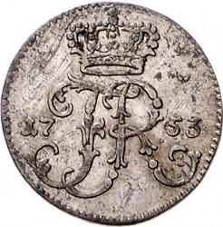 Moneta > 1/48tallero, 1753-1763 - Prussia  - obverse