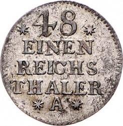 Moneta > 1/48tallero, 1753-1763 - Prussia  - reverse