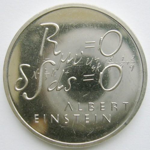 5 Franken 1979 Albert Einstein Formel Schweiz Münzen Wert