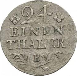 Pièce > 1/24thaler, 1764-1786 - Prusse  - reverse