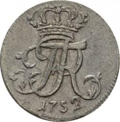 Moneta > 1/48tallero, 1750-1753 - Prussia  - obverse