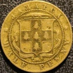 Pièce > ½penny, 1904-1910 - Jamaïque  - reverse