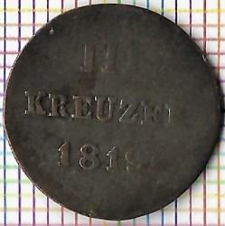 Moneda > 3kreuzer, 1816-1819 - Nasáu  - reverse