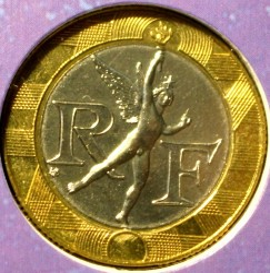 Moneda > 10francs, 1996 - França  - reverse