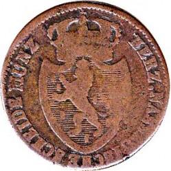 Монета > 1крейцер, 1817-1818 - Нассау  - obverse
