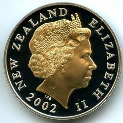 Монета > 5долларов, 2002 - Новая Зеландия  (Королевский Скипетр) - obverse