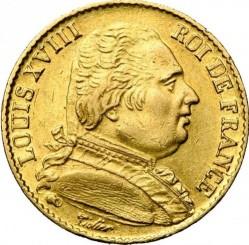 Münze > 20Franken, 1814-1815 - Frankreich  - obverse
