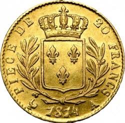 Münze > 20Franken, 1814-1815 - Frankreich  - reverse